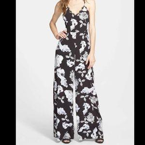 ASTR Floral Jumpsuit